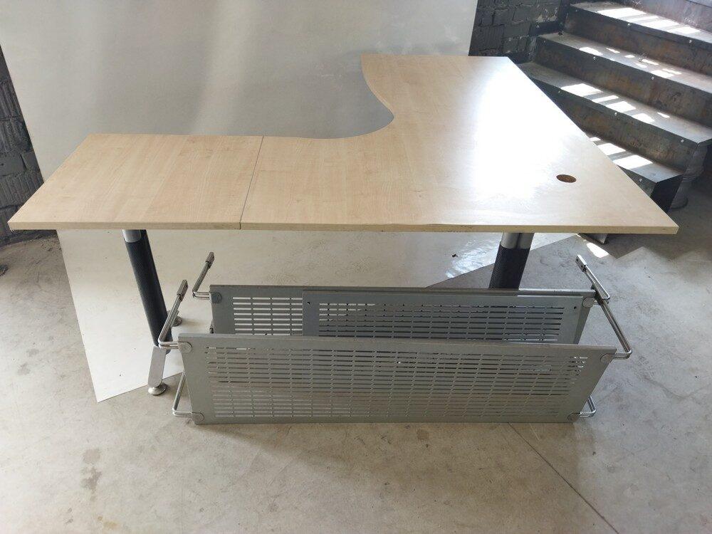L veida biroja galds 177x180