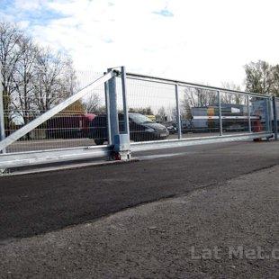 Industriālas nozīmes bīdāmi vārti, Transporta kompānija KURBADS, Rīga