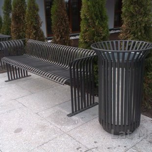 Street and Site Furnishings - street furniture