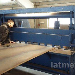 Sheet cutting 6mm, 3m