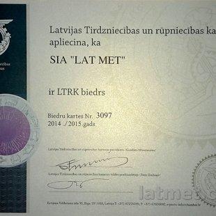 Lat Met ir Tirdzniecības Rūpniecības kameras biedrs